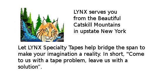 Lynx Specialty Tapes