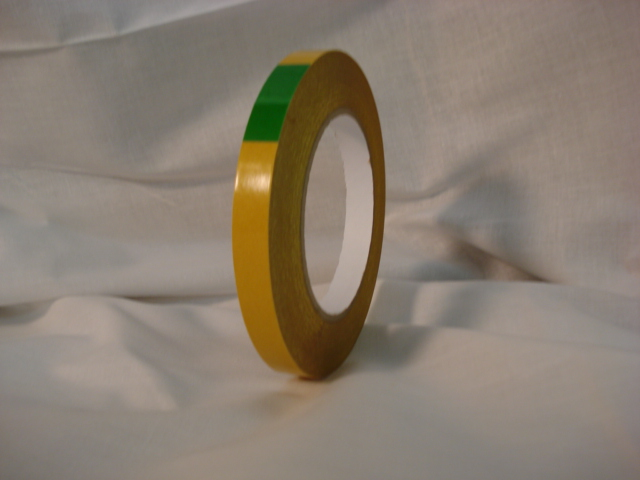 "LX-171: 5.5 Mil Double Coated ""Gold Tissue Tape"""
