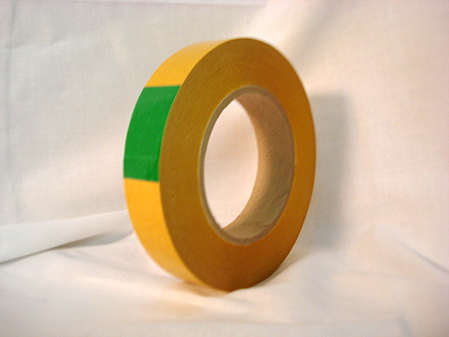 "LX-458: 4.0 Mil Double Coated ""Gold Tissue Tape"""